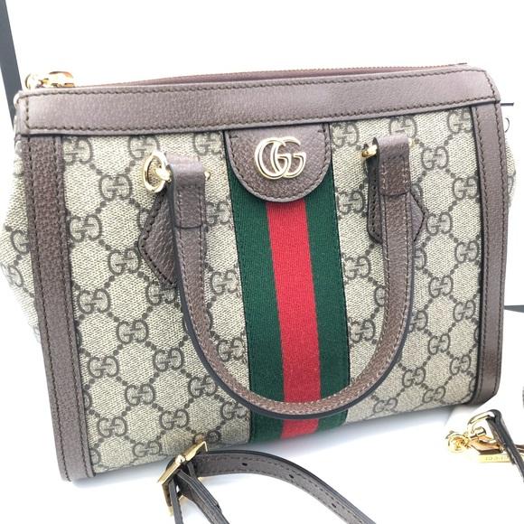 6ab141ae0ff Brand new Gucci ophidia small gg supreme tote !!